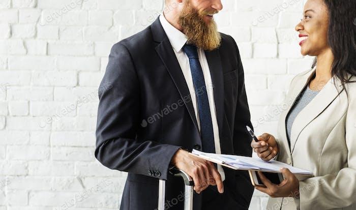 Geschäftsleute Unternehmens- sorganisation Arbeitskonzept