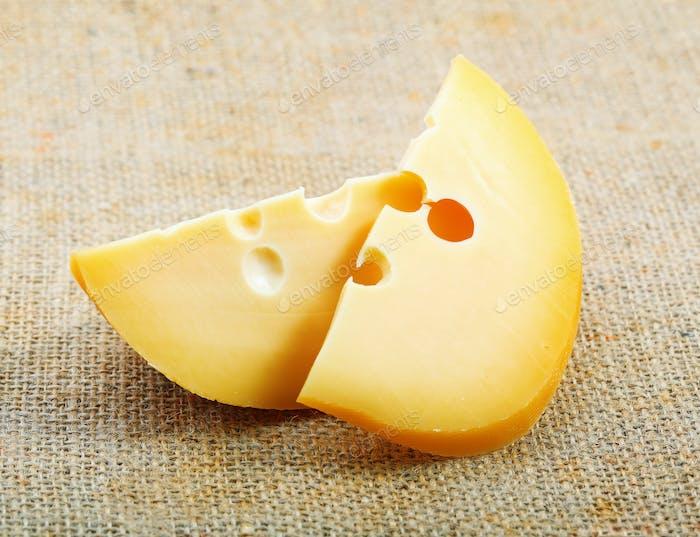 Käse auf Entlassung.