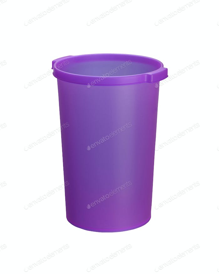 Bucket. On a white background.