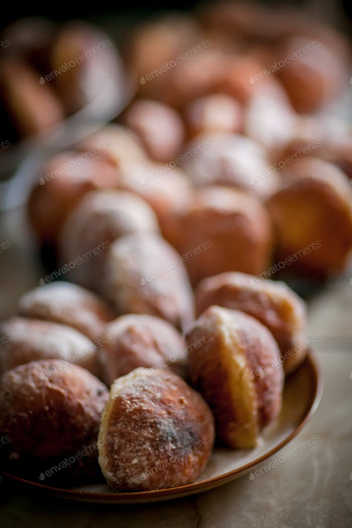 The best Polish home-made donuts
