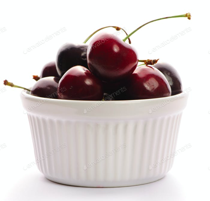 Cherry in bowl