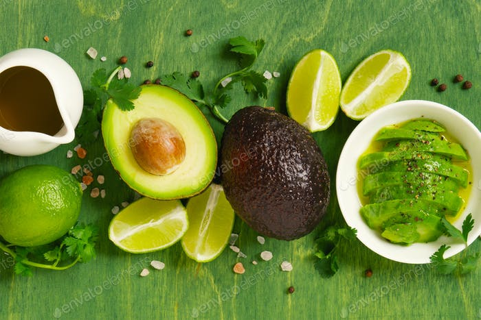 Green Salad of Avocado