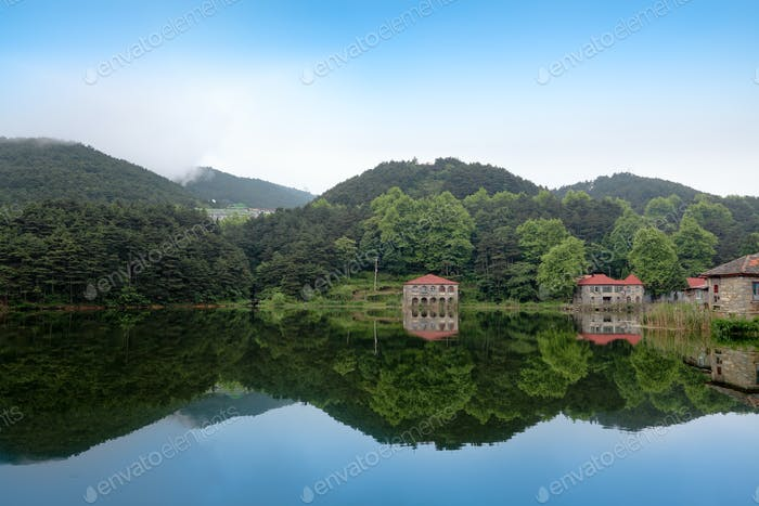 tranquil scenery in lushan