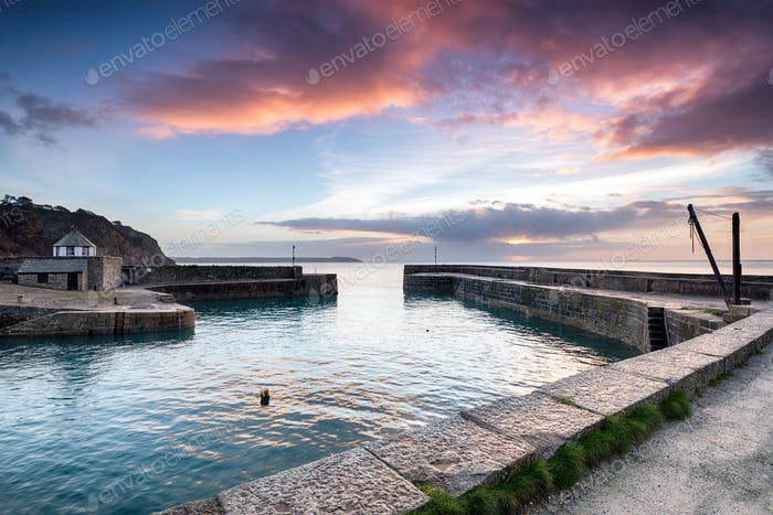 Charlestown Harbour in Cornwall