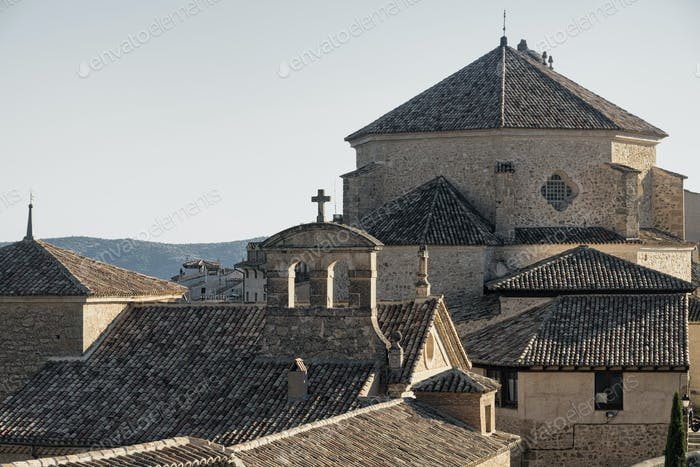 Cuenca (Spain), old church