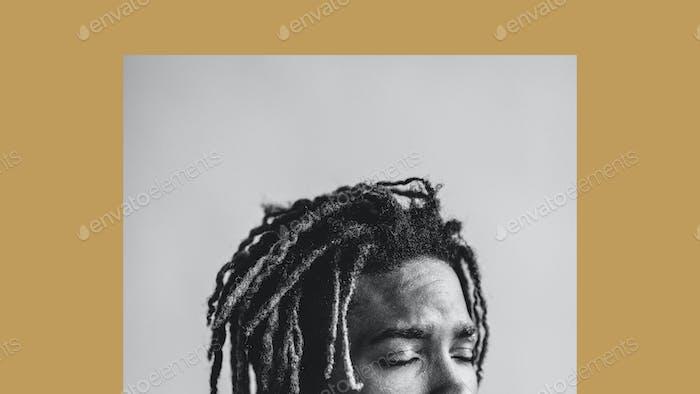 Eyes shut poster
