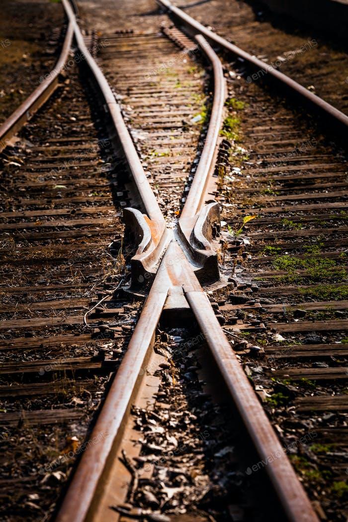 Train Track Detail