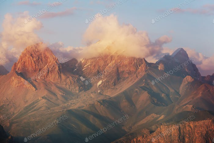 Fann mountains