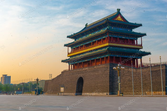 Zhengyangmen Gate, Beijing, China