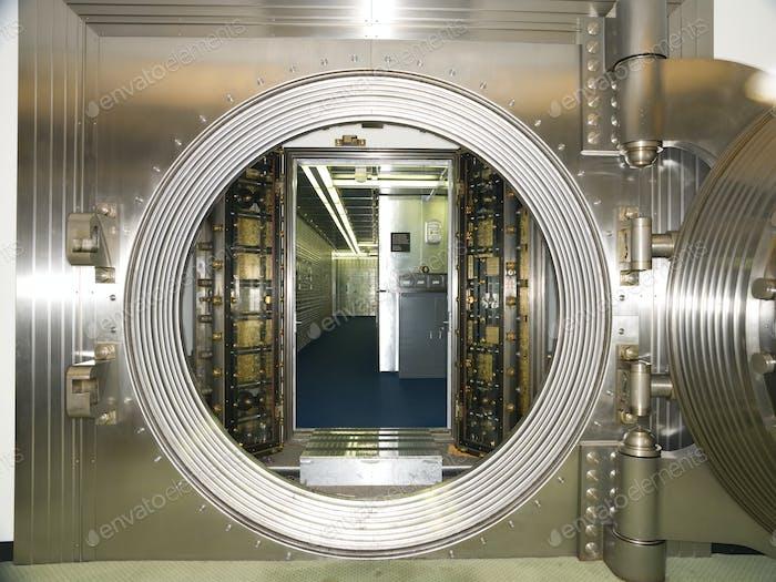 Interior de bóveda