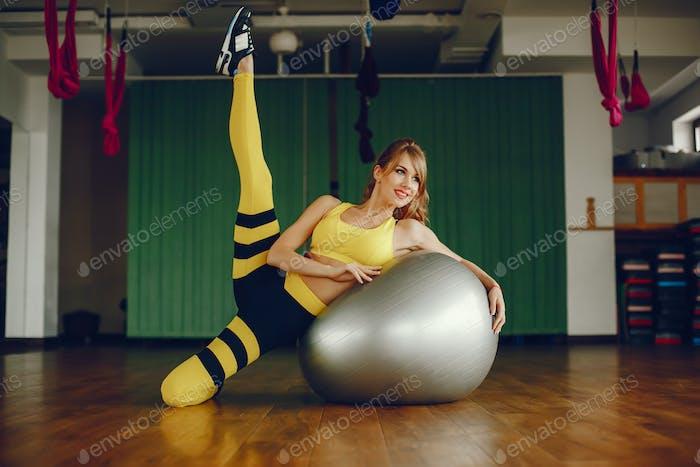 schöne Sportmädchen