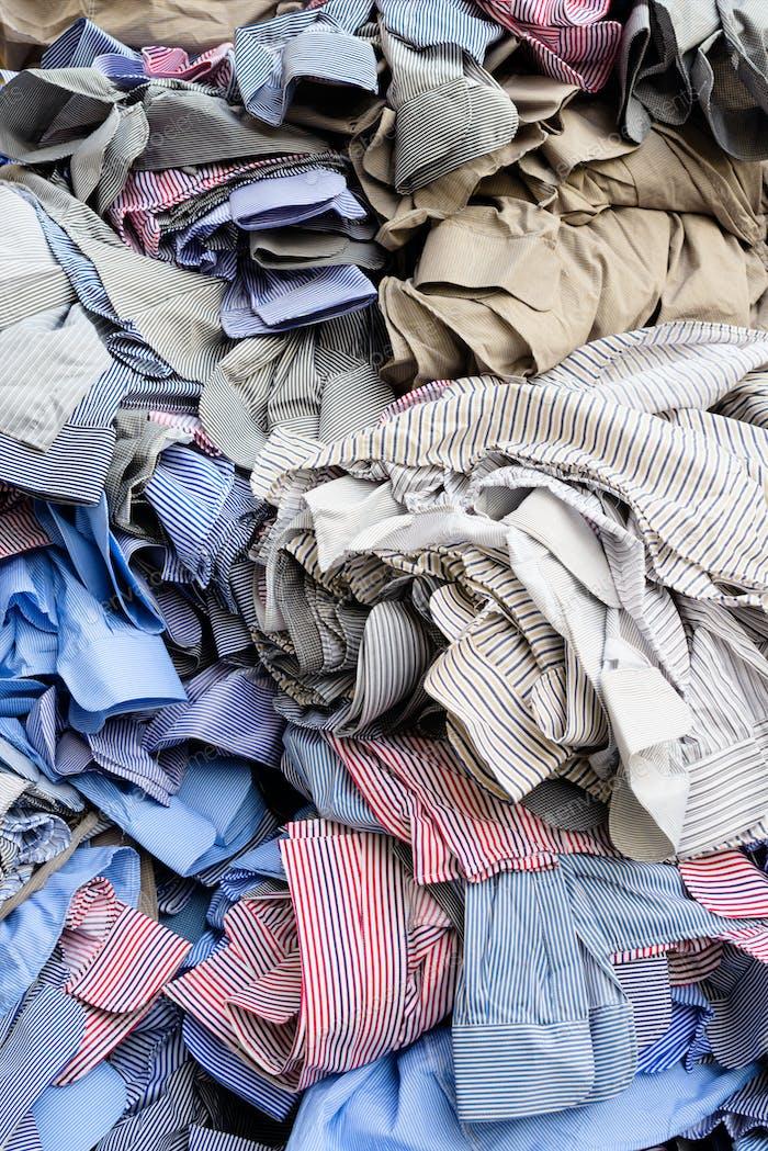 Unfinished shirts