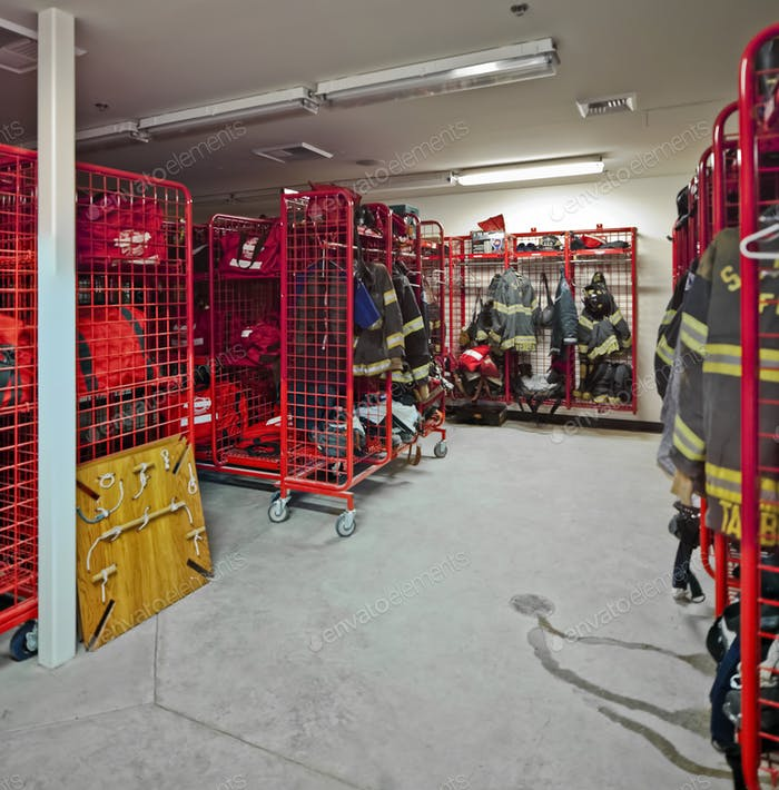 48436,Fire Station Equipment Room