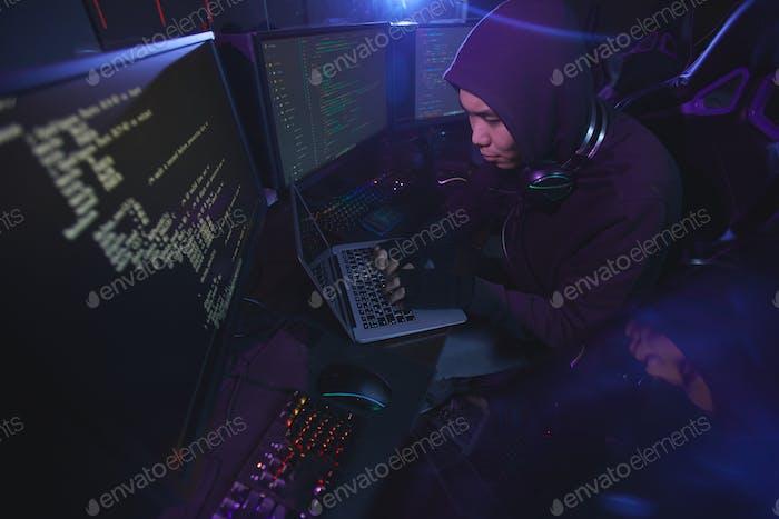 Coding Screens in Dark