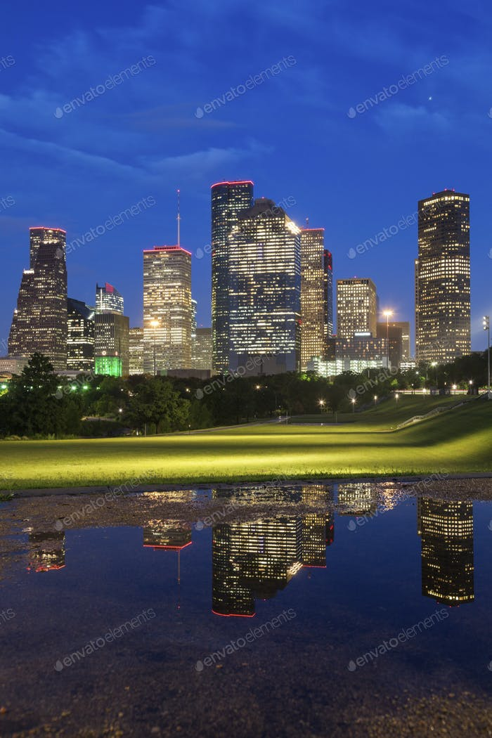 Panorama of Houston