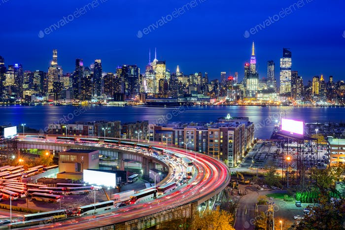 New York and Highways