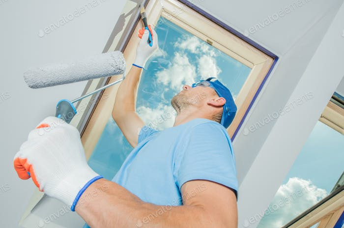 Painting Newly Constructed
