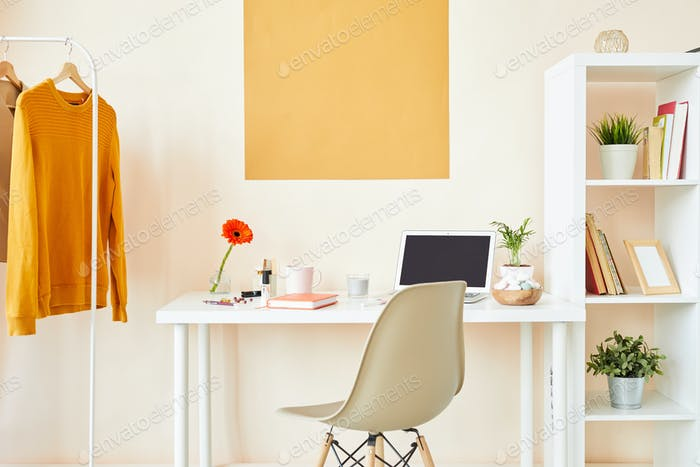Contemporary designer workplace