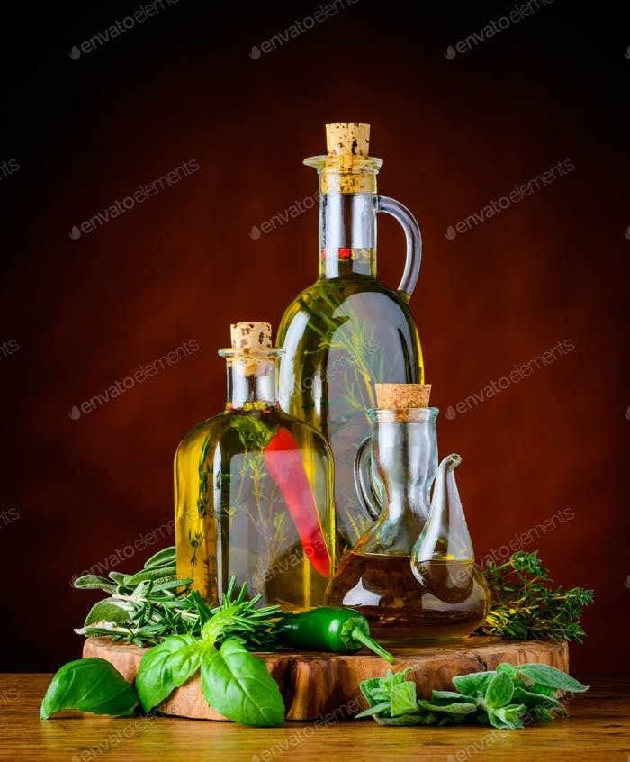 Extra Virgin Olive Oil in Bottles