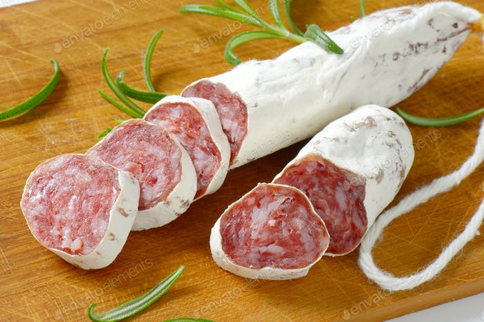 Fuet - Catalan dry cured sausage
