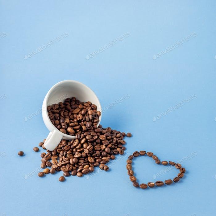 L' amour du café.