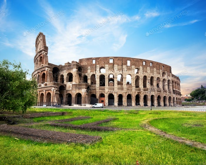 View of colisseum