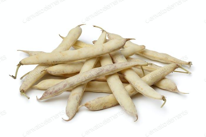 Fresh white coco beans
