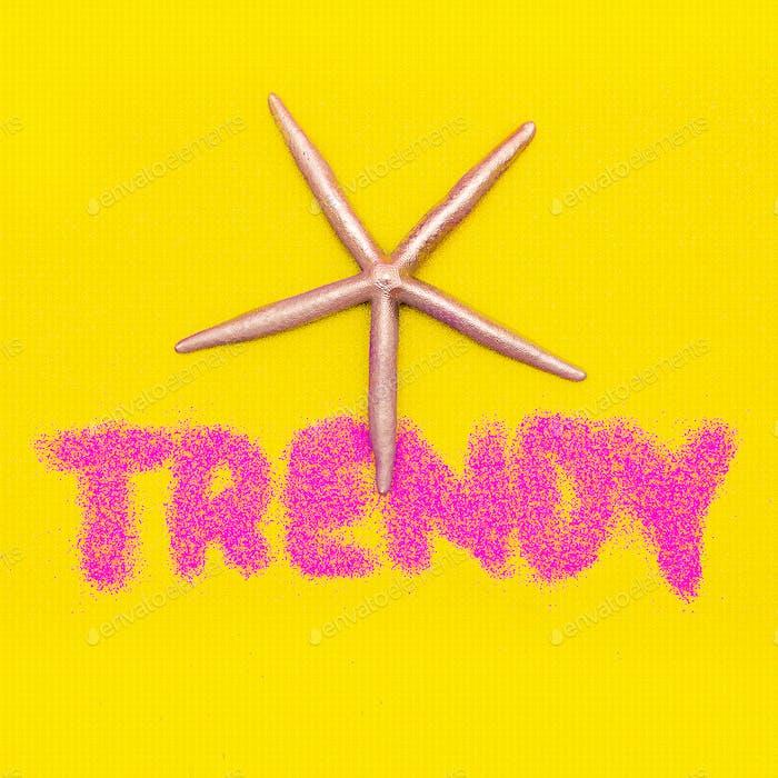 Beach Trend Minimal design fashion