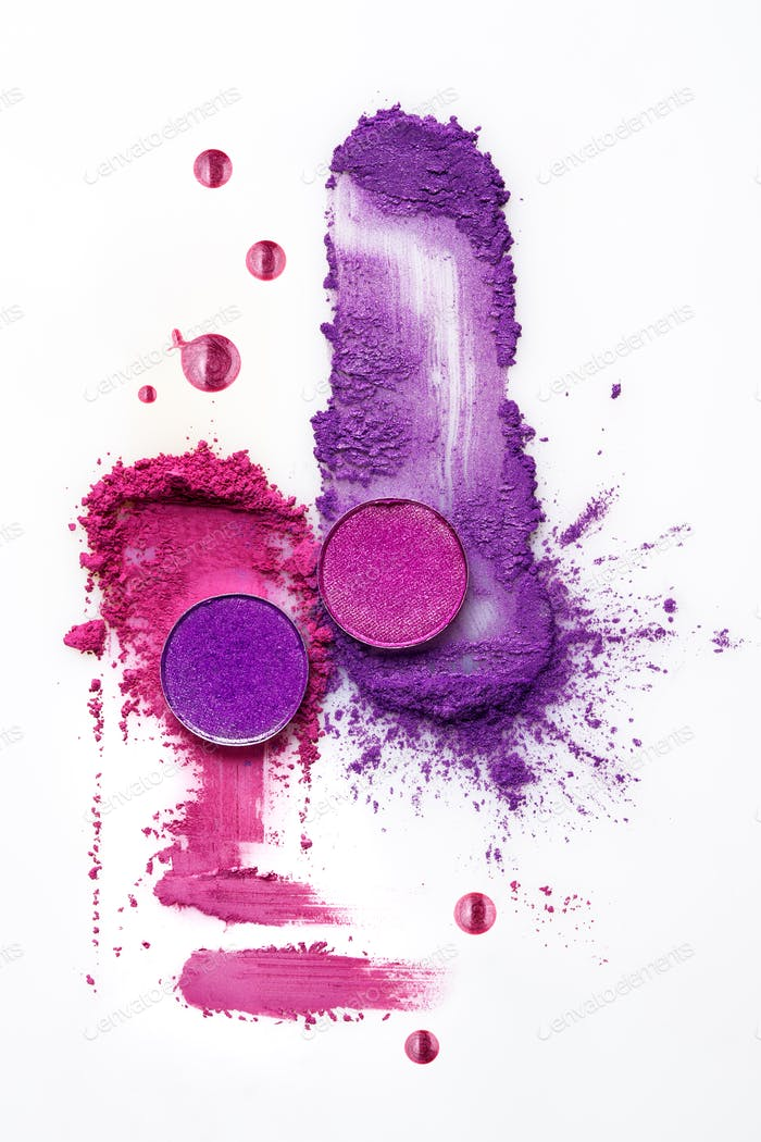 Cosmetic swatch.