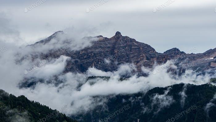 Nebel Berge