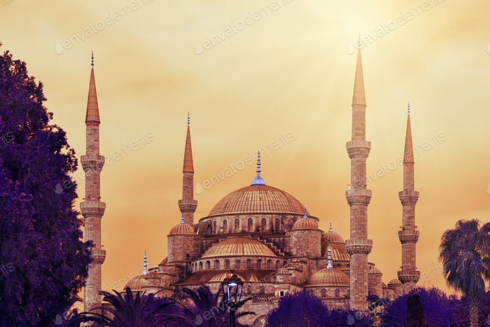 Sultan Ahmed Mosque or Blue Mosque