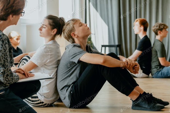 Stress controlling classes