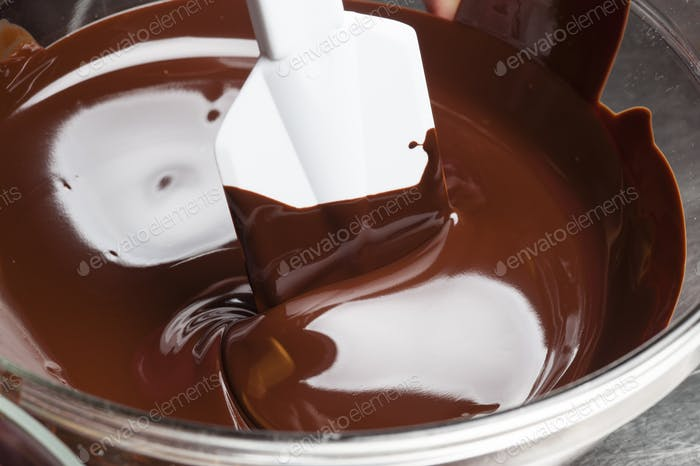Preparation of traditional Easter choccolate