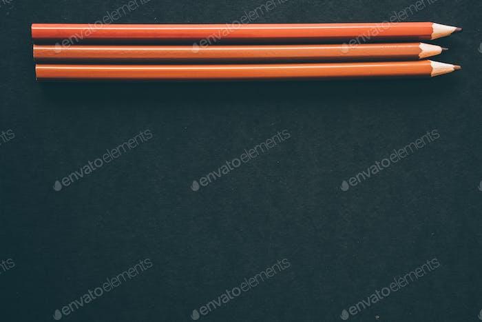 А verschiedene Brauntöne Bleistift.