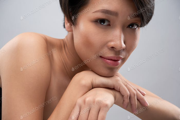 Woman with beautiful make-up