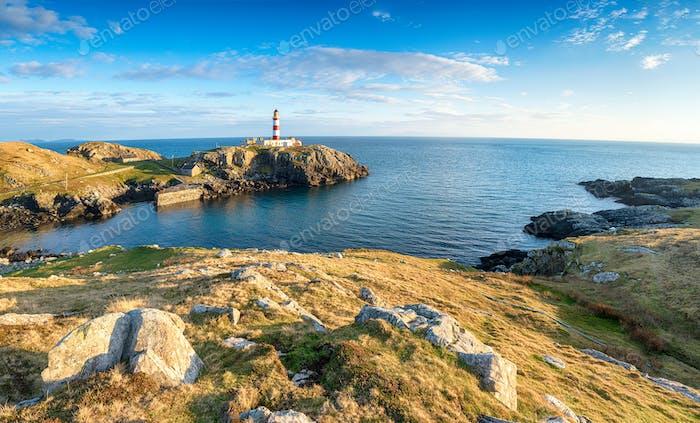 The Eilean Glas Lighthouse in Scotland