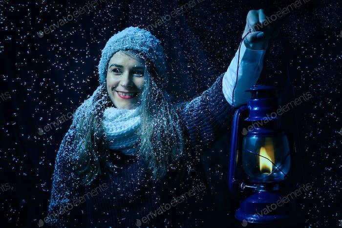 Зимняя ночь фантазии