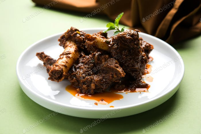 Bhuna Gosht or Bhuna Mutton