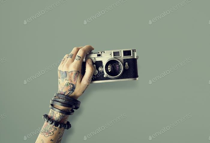 Tattoo Camera Photography Media Creative Film Concept