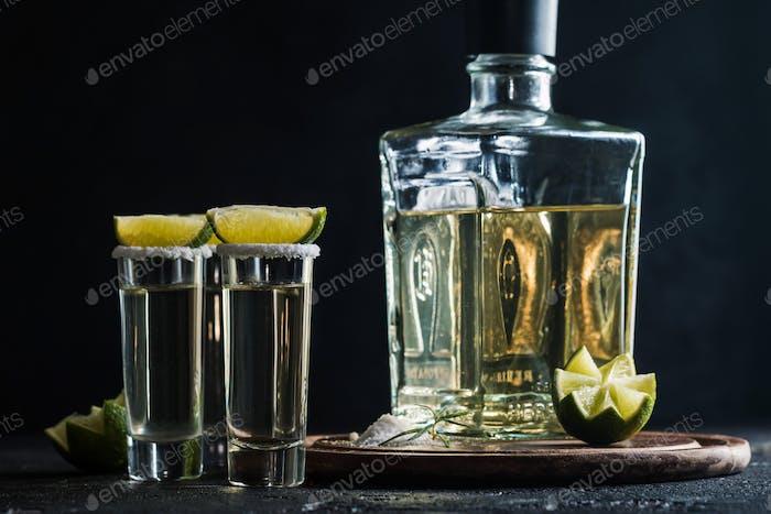 Mexikanischer Gold Tequila