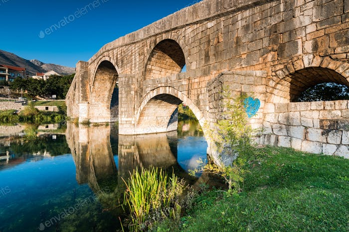 Ottoman Arslanagic (Perovic) Bridge, The Old Bridge in Trebinje,