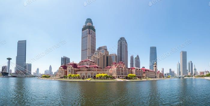 tianjin jinwan plaza panorama