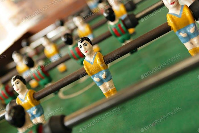 table football man