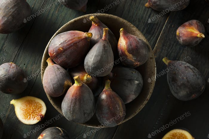 Raw Purple Organic Figs