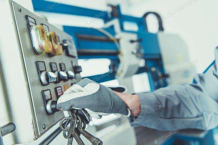 Turning On Metalworking Machine