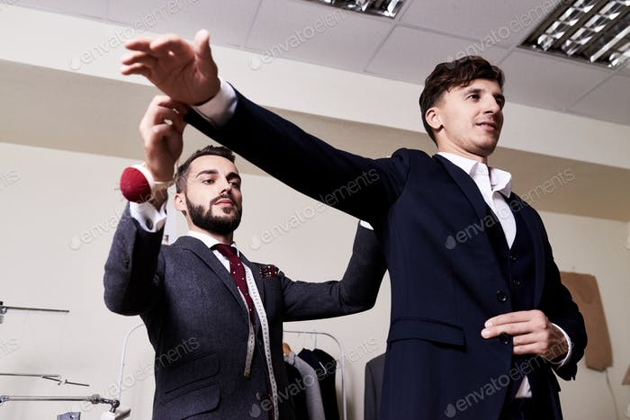 Bespoke Suit Fitting
