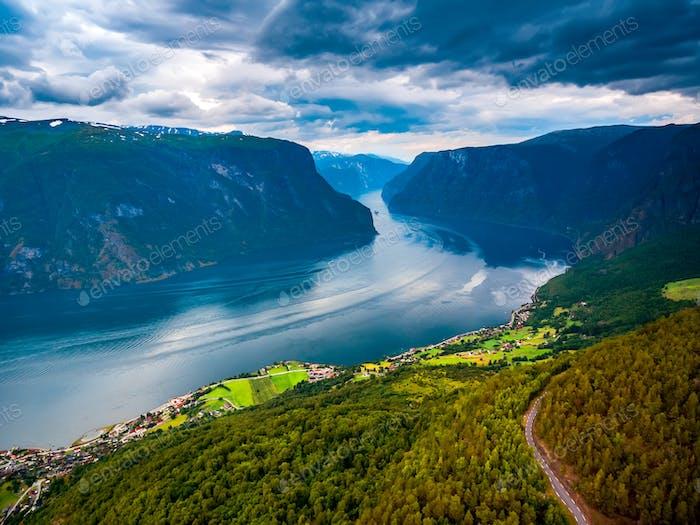 Schöne Natur Norwegen - Sognefjorden.
