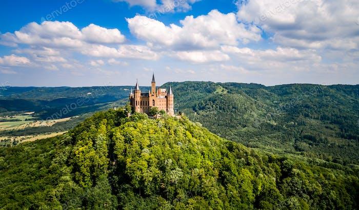 Schloss Hohenzollern, Deutschland.