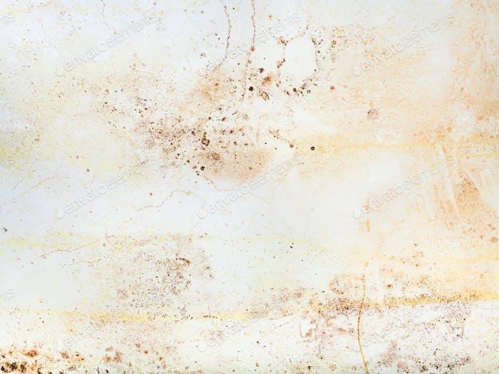 Innen Shabby Wand mit Schimmelflecken