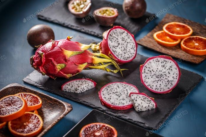 Konzept für tropische Früchte